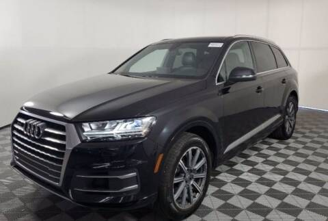 2017 Audi Q7 for sale at EARTH MOTOR CARS in Carrollton TX