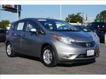 2014 Nissan Versa Note for sale in Gardena, CA