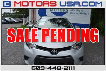 2016 Toyota Corolla for sale in Monroe, NJ