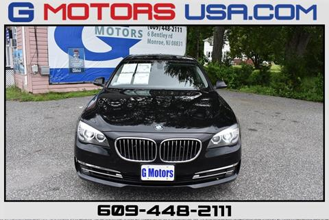 2015 BMW 7 Series for sale in Monroe, NJ
