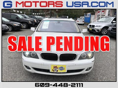 2007 BMW 7 Series for sale in Monroe, NJ