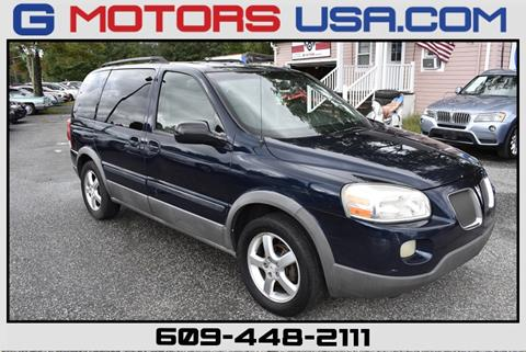 2005 Pontiac Montana SV6 for sale in Monroe, NJ