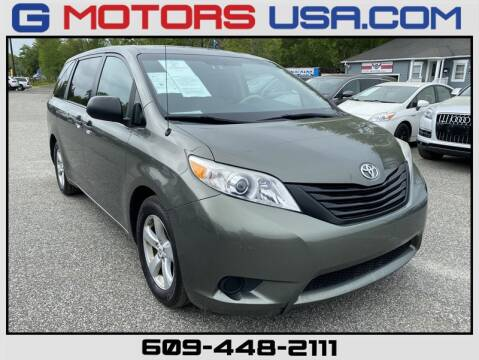 2011 Toyota Sienna Base 7-Passenger for sale at G Motors in Monroe NJ