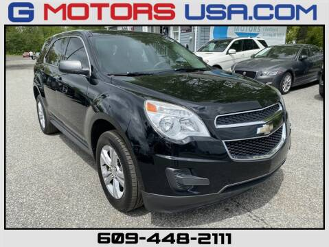 2014 Chevrolet Equinox LS for sale at G Motors in Monroe NJ