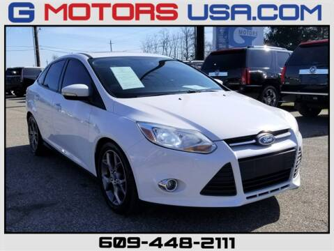 2014 Ford Focus SE for sale at G Motors in Monroe NJ