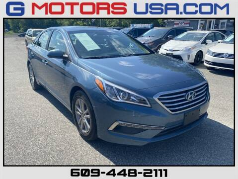 2015 Hyundai Sonata SE for sale at G Motors in Monroe NJ