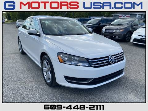 2013 Volkswagen Passat for sale at G Motors in Monroe NJ