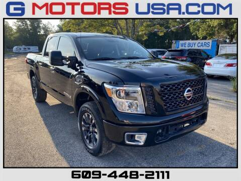 2017 Nissan Titan for sale at G Motors in Monroe NJ