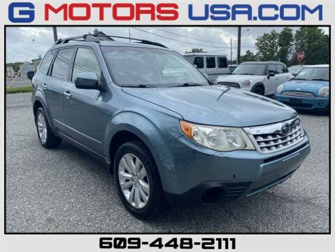 2012 Subaru Forester for sale at G Motors in Monroe NJ