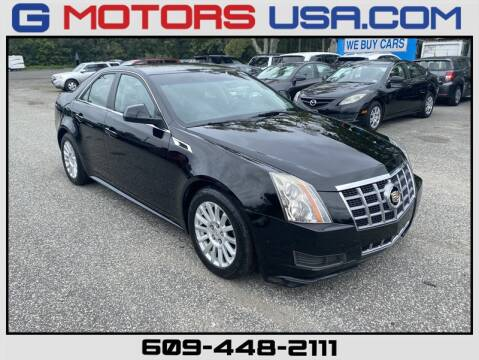 2012 Cadillac CTS for sale at G Motors in Monroe NJ