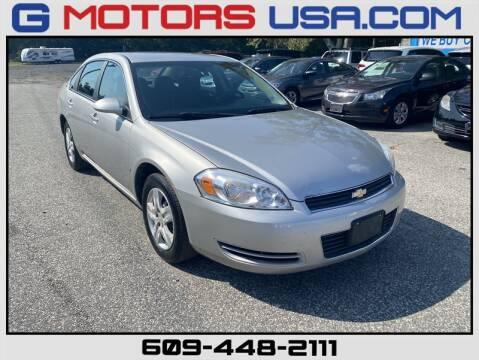 2008 Chevrolet Impala for sale at G Motors in Monroe NJ