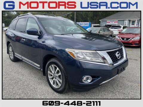 2013 Nissan Pathfinder for sale at G Motors in Monroe NJ
