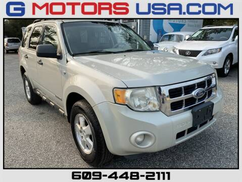 2008 Ford Escape for sale at G Motors in Monroe NJ