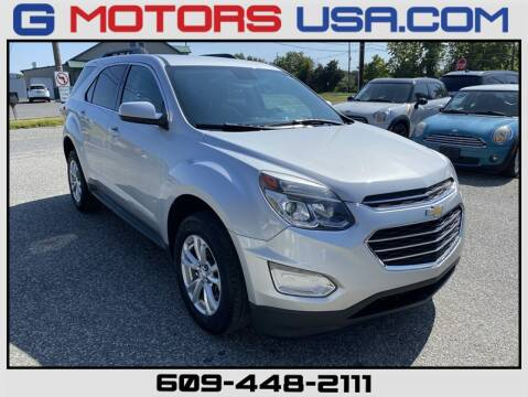 2016 Chevrolet Equinox for sale at G Motors in Monroe NJ