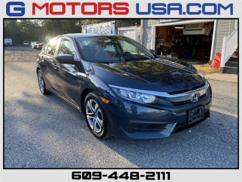 2016 Honda Civic for sale at G Motors in Monroe NJ