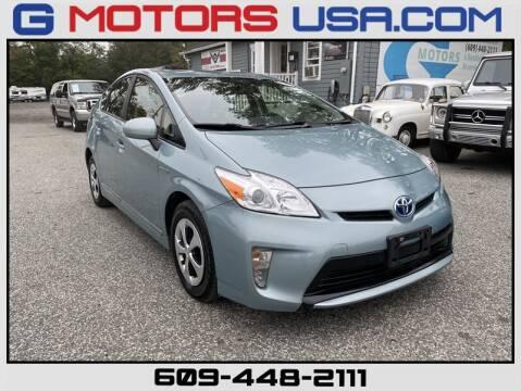 2012 Toyota Prius for sale at G Motors in Monroe NJ