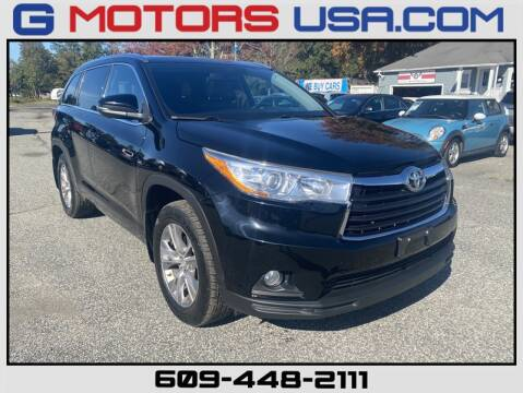 2015 Toyota Highlander for sale at G Motors in Monroe NJ