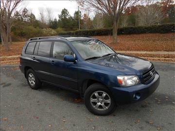 2005 Toyota Highlander for sale in Matthews, NC