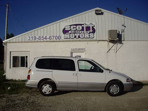 2002 Mercury Villager for sale in Springville, IA
