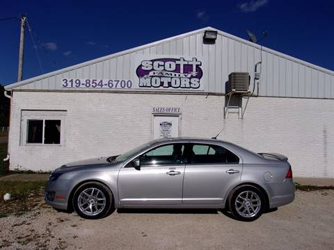 2010 Ford Fusion for sale in Springville, IA