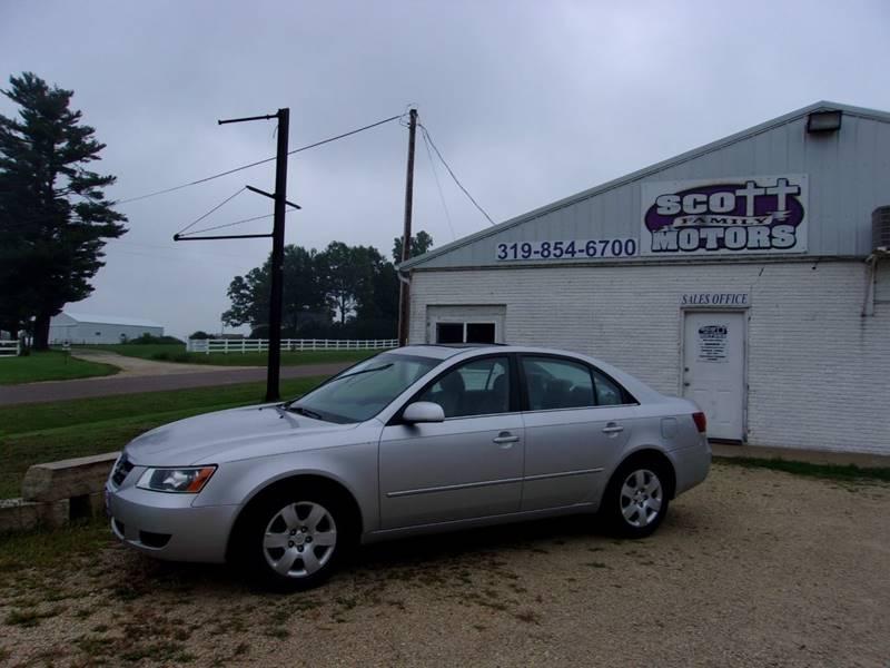 2008 Hyundai Sonata For Sale At SCOTT FAMILY MOTORS In Springville IA