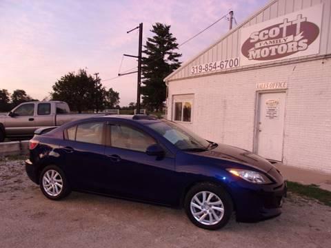 2012 Mazda MAZDA3 for sale in Springville, IA