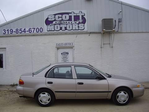 2001 Chevrolet Prizm for sale in Springville, IA