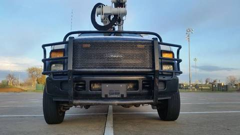 2008 Ford F-550 4X4 BUCKET TRUCK & BOOM for sale in Irving TX