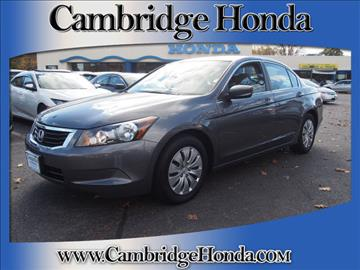 2010 Honda Accord for sale in Cambridge, MA