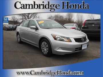 2009 Honda Accord for sale in Cambridge, MA