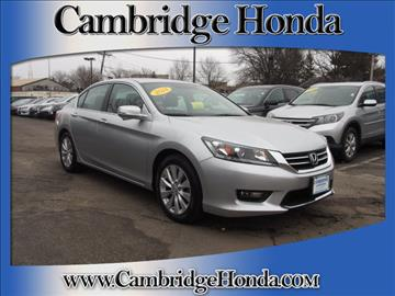2014 Honda Accord for sale in Cambridge, MA
