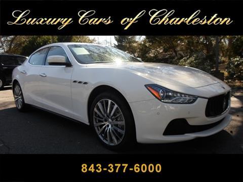 Luxury Cars Of Charleston >> Maserati Ghibli For Sale In Charleston Sc Luxury Cars Of