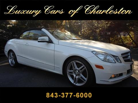 2011 Mercedes-Benz E-Class for sale in Charleston, SC