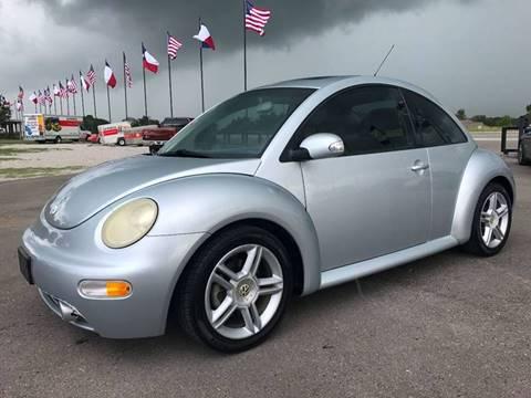 2004 Volkswagen New Beetle for sale in Hempstead, TX