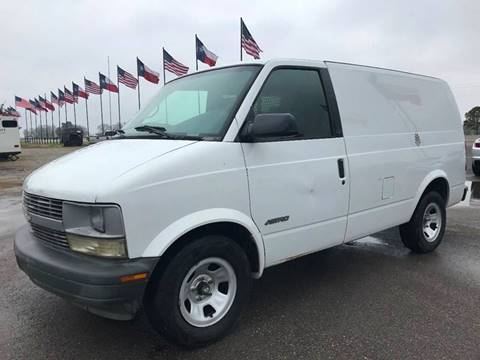 2001 Chevrolet Astro Cargo For Sale In Hempstead TX