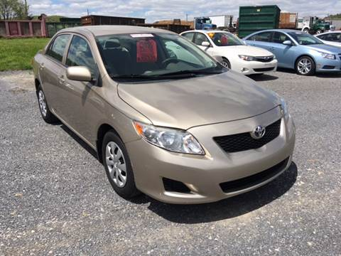 2010 Toyota Corolla for sale at Blaise Alexander's Auto Outlet in Williamsport PA