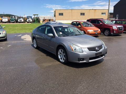2008 Nissan Maxima for sale at Blaise Alexander's Auto Outlet in Williamsport PA