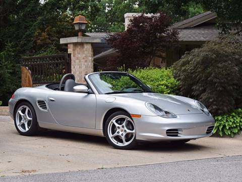 2004 Porsche Boxster for sale at Ehrlich Motorwerks in Siloam Springs AR
