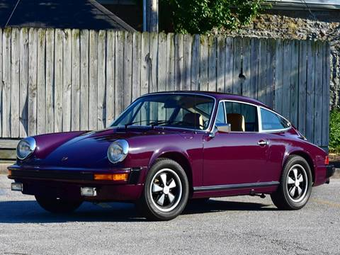 1974 Porsche 911 for sale at Ehrlich Motorwerks in Siloam Springs AR