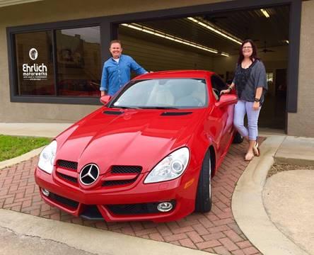 2009 Mercedes-Benz SLK for sale at Ehrlich Motorwerks in Siloam Springs AR