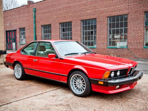 1987 BMW M6 for sale at Ehrlich Motorwerks in Siloam Springs AR