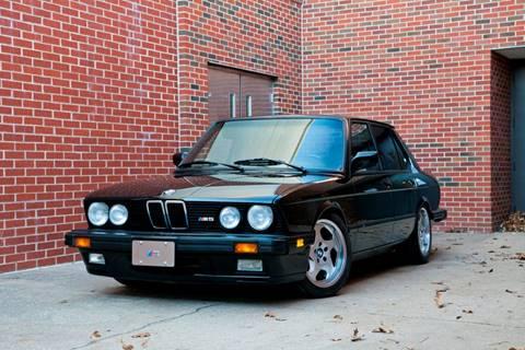 1988 BMW M5 for sale at Ehrlich Motorwerks in Siloam Springs AR