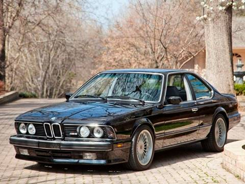1988 BMW M6 for sale at Ehrlich Motorwerks in Siloam Springs AR