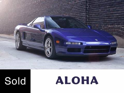 1991 Acura NSX for sale at Ehrlich Motorwerks in Siloam Springs AR