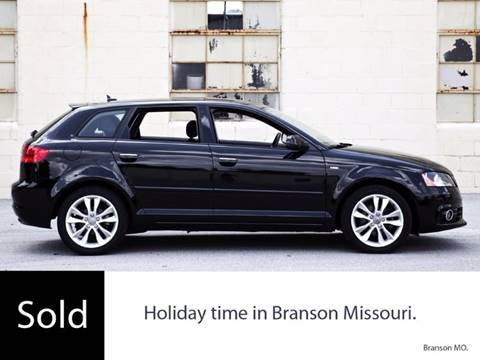 2012 Audi A3 for sale at Ehrlich Motorwerks in Siloam Springs AR