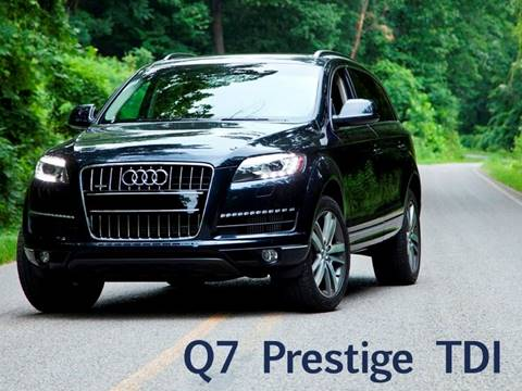 2012 Audi Q7 for sale at Ehrlich Motorwerks in Siloam Springs AR