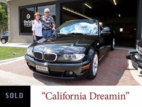 2005 BMW 3 Series for sale at Ehrlich Motorwerks in Siloam Springs AR