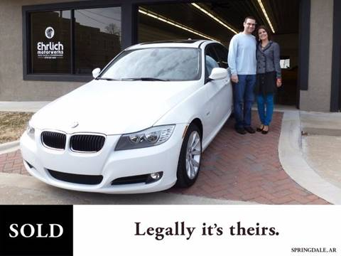 2011 BMW 3 Series for sale at Ehrlich Motorwerks in Siloam Springs AR