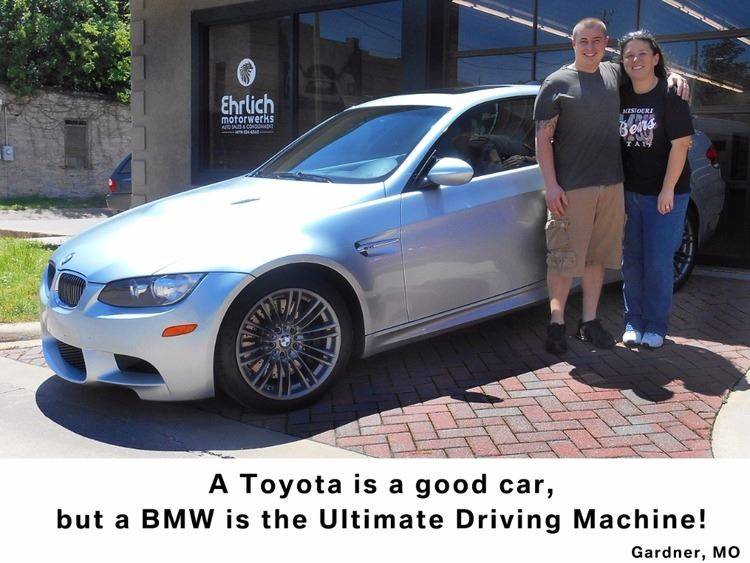 2008 BMW M3 for sale at Ehrlich Motorwerks in Siloam Springs AR