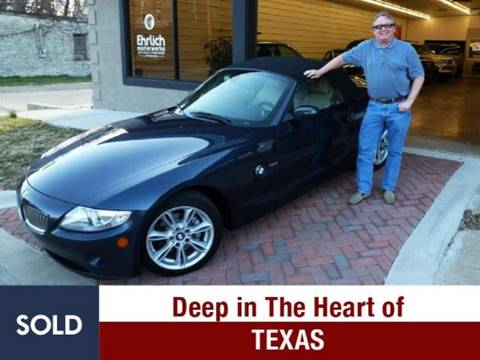 2005 BMW Z4 for sale at Ehrlich Motorwerks in Siloam Springs AR